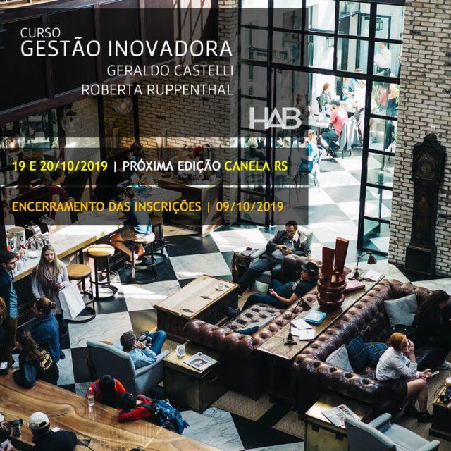 GESTÃO INOVADORA – Geraldo CASTELLI – Roberta RUPPENTHAL